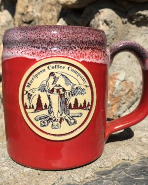 Hand crafted Mug-Antique Cherry Red-0